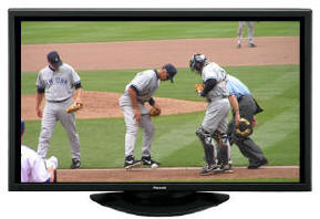 Plasma and LCD rentals 1024x768 to 1080p displays and TV's copyright dewit alls fair dodgers yanks 2005