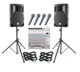 small and medium pa system rental